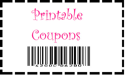 Printable Coupons Available...